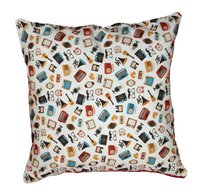 Digital Printed Fancy Design Cushion Cover
