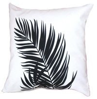 Digital Printed Leaf Design Cushion Cover