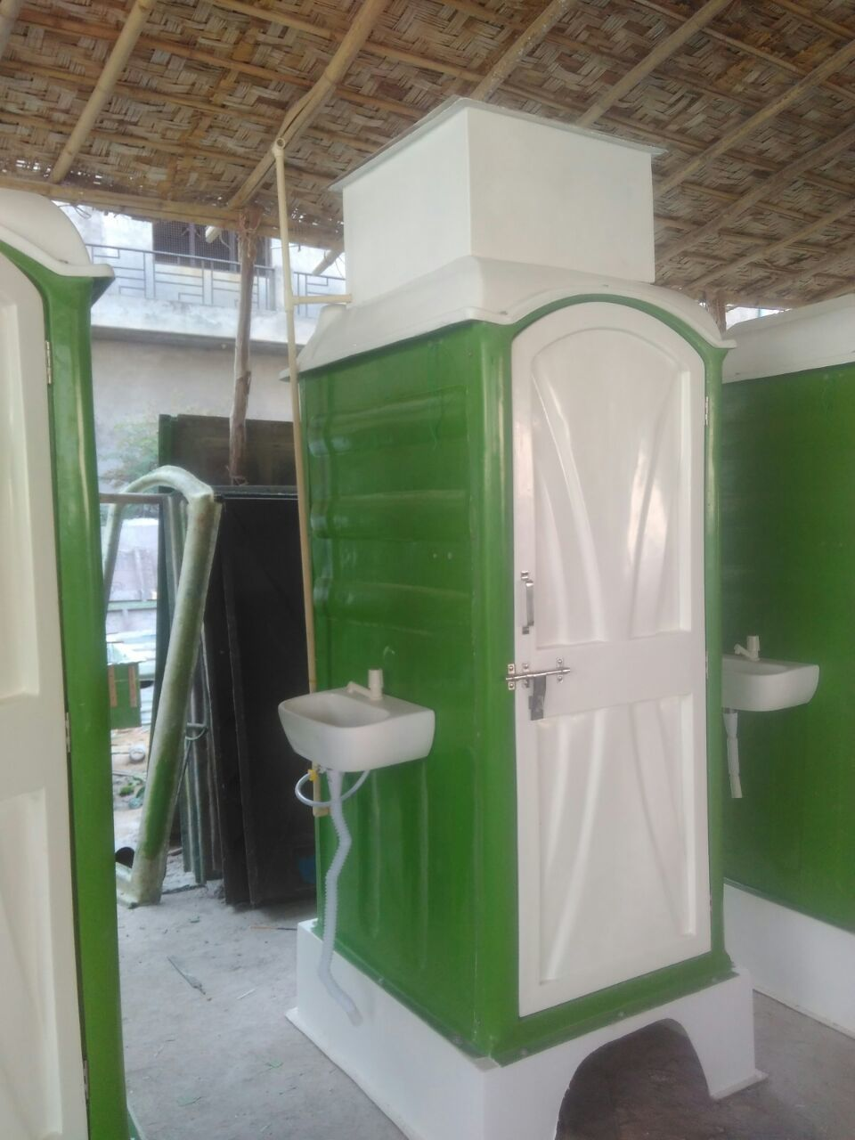 FRP Toilet Cabin With Bio Tank