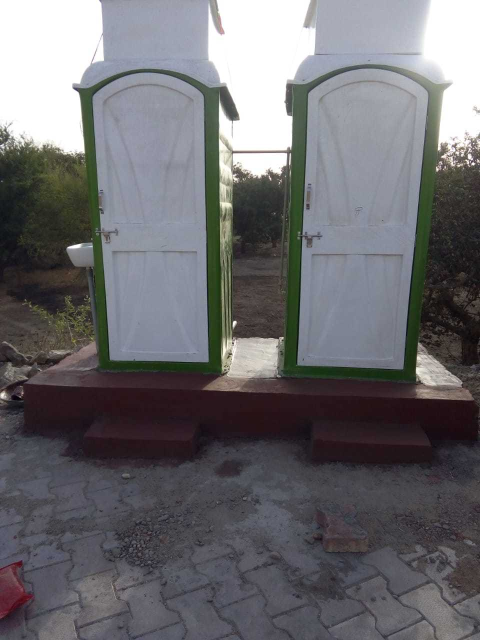 Double Toilet set