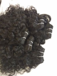 Raw Unprocessed Curly Human Hair