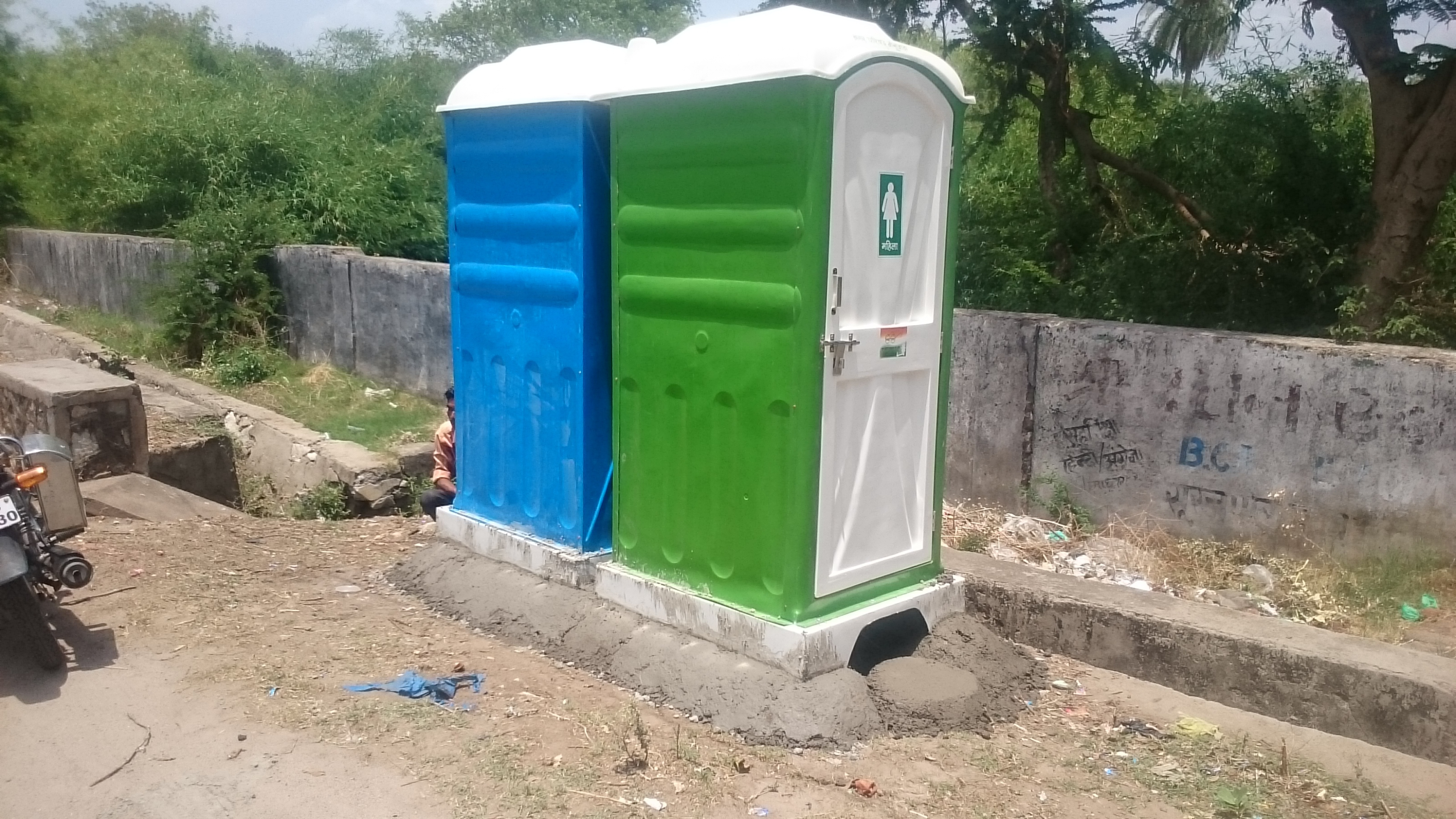 FRP Toilet / Urinal cabin