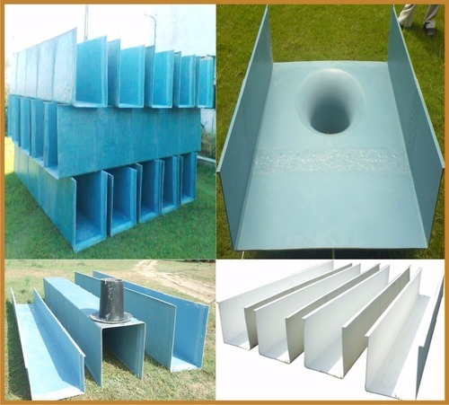 FRP Rainwater Gutter