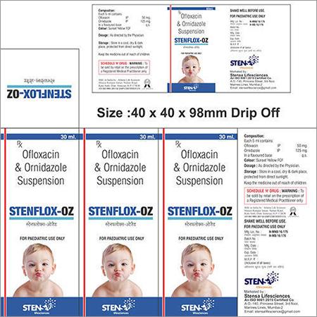 Ofloxacin  Ornidazole Suspension