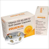 Cholecalciferol With Vitamin D3 Soft Gel Capsules