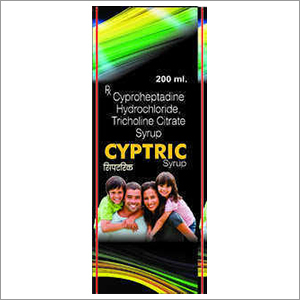 Cyproheptadine HCL 2 MG Tricholine Citrate Solution 275 Mg