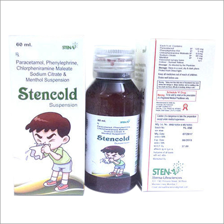 Paracetamol Phenylephrine Stencold Suspension
