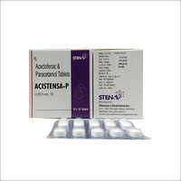 Aceclofenac100mg Paracetamol Tablets