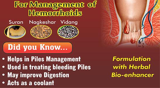 Ayurvedic Medicines for piles - Arsohills