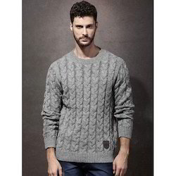 Woolen Full Sleeves Mens Sweater