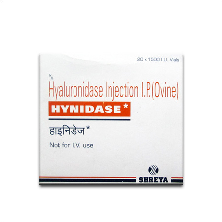 Hyaluronidase Injection