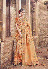 Wedding for banarasi silk sarees