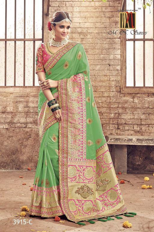 Wedding for banarasi silk sarees