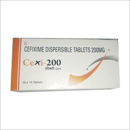 Cefixime Dispersible Tablet