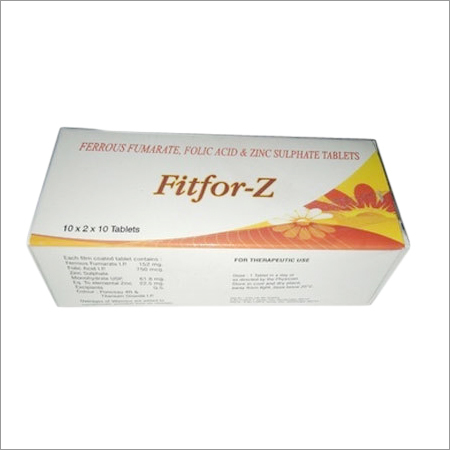 Ferrous Fumarate Folic Acid