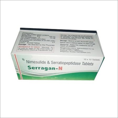 Serratiopeptidase Tablet