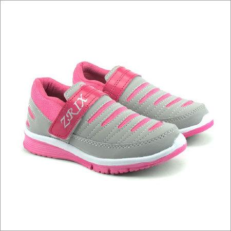 Ladies Grey & Pink Shoes