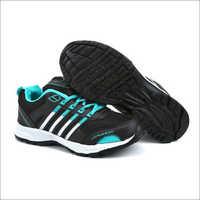 Mens Black & Sea Shoes