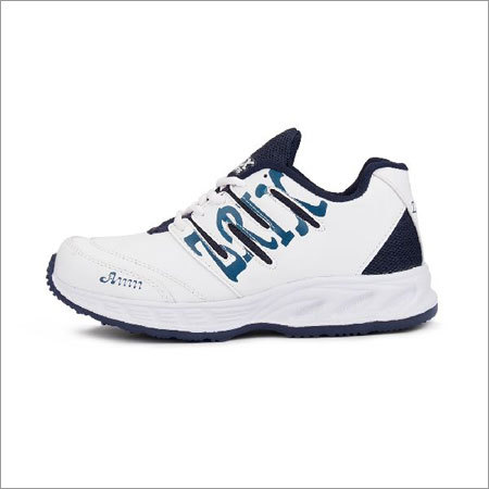 White & Blue Shoes