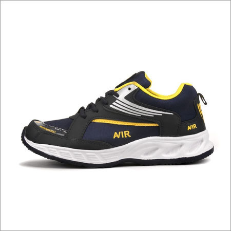Blue & Yellow Fylon Sole Sports Shoes
