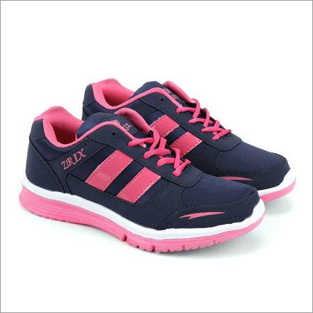 Blue & Pink Fylon Sole Sports Shoes