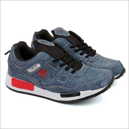 Denim Blue Sports Shoes