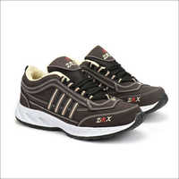 Cream & Brown Fylon Sole Sports Shoes