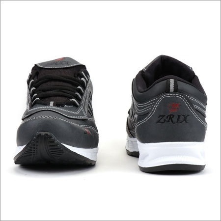 Denim Black Sports Shoes