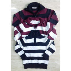 High Neck Boys Woolen Sweater