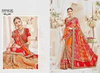 Party wear & wedding for heavy designer sarees