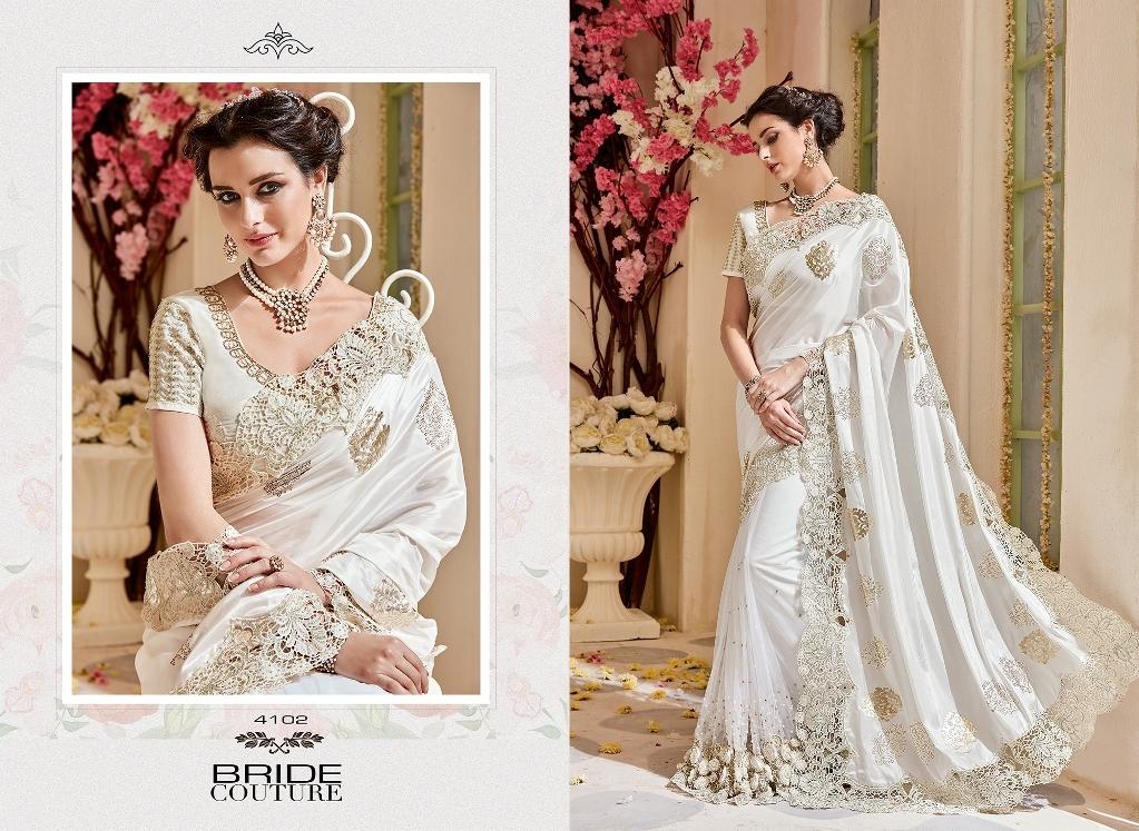Party wear & wedding for heavy designer sarees