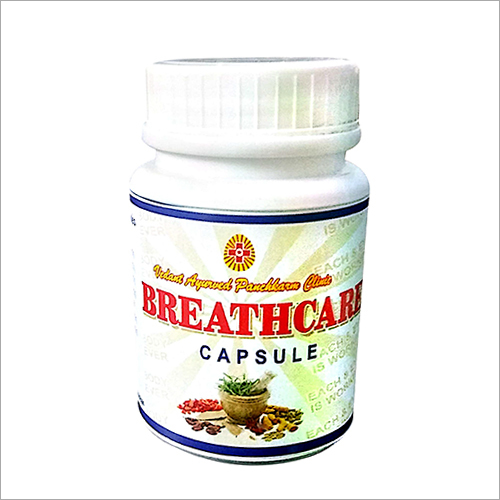 Breath Care Capsules For Asthma