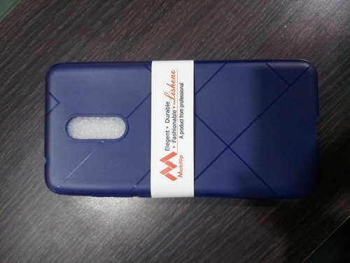 Rubber Mobile Back Cover