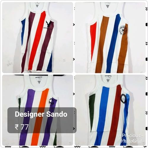 Mens Printed Sando