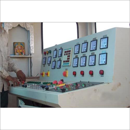 Road Wet Mix Plant Control Panel