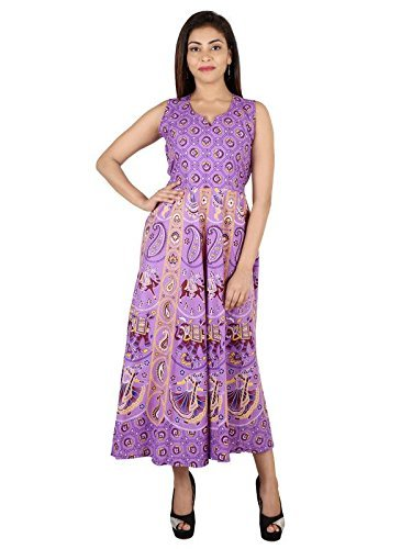 Ladies Jaipuri Printed Long Frock