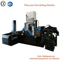 Column type gun drilling and milling function machine for mold manufacturing