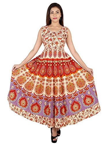 One Piece Long Bagru Dress