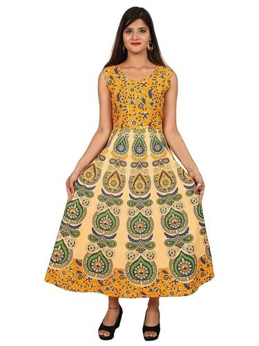 Rajasthani Pure Cotton Long Dress