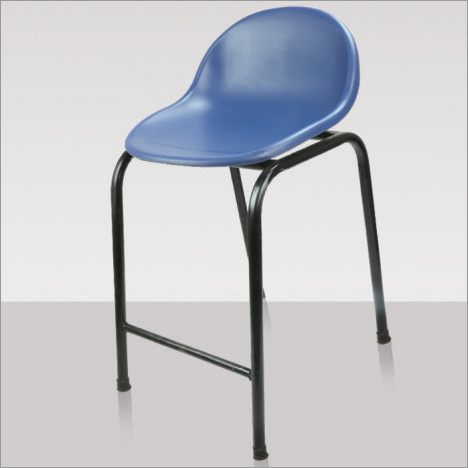 Portable Armless Plastic Chair
