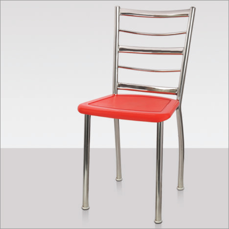 Armless Steel Chair
