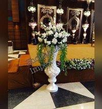 Artsy Wedding Flower Pot