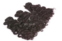 Indian Templr Natural Curly Hair