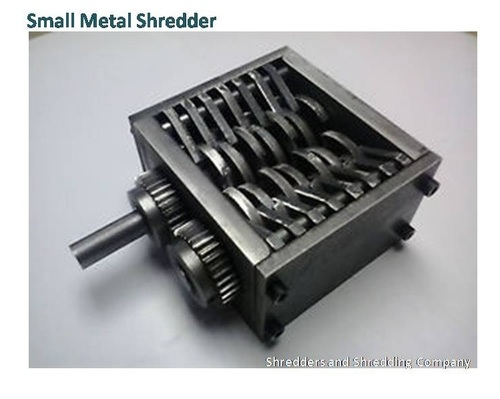 Small Metal Shredder Manufacturer Small Metal Shredder