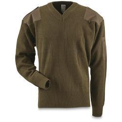 Mens Military Sweater