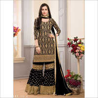 Ladies Faux Georgette Suit