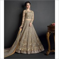 Ladies Netted Lehenga Suit