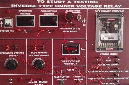 Inverse Type Under Voltage Relay