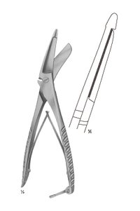 CLOTH SCISSROS  (1 Blade Serrated)