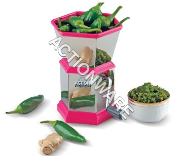 S.S.Chilly-N-Dry Fruit Cutter (Hexagonal)